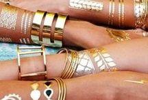 ** Jewelry tattoos!! Love it!! ** / Jewelry