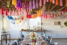 Parties / Party craft and decoration ideas