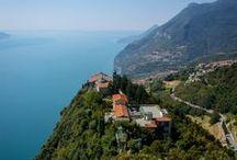 Tignale Lake Garda / Tignale at lake Garda in Italy