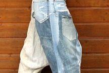 Roupa Usada, Cara Nova / Idéias para a customização e criação de roupas novas a partir do que se já tem no guarda-roupa
