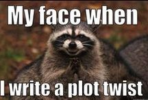 Writing Humor / Because there are parts to this whole writing thing that are straight up hilarious. Browse write through for writing humor!