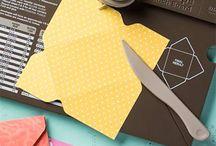 Envelope punch board, Stampin' Up! / #stampin' up! #card making #linda's papercraft