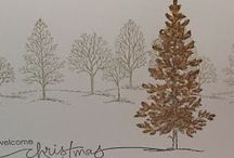Lovely as a Tree, Stampin' Up! / Cards and projects using the Stampin' Up! Lovely as a Tree stamp set