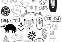Doodles / Cute little doodles