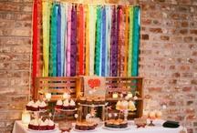 Rainbow Wedding Trend - 2013