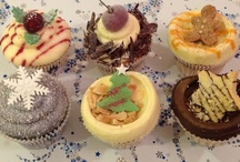 Christmas Cupcakes 2012 / Inspired by traditional Christmas desserts our sumptuous range of Christmas cupcakes were available throughout December 2012.