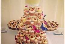 Wedding Cakes / A selection of wedding cakes and cupcakes from Cuckoo's Bakery, Edinburgh.