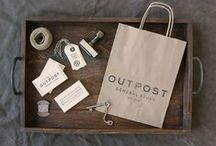 Outpost General Store / Branding and graphic design for Outpost General Store by Knoed Creative in Chicago
