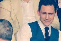 Hiddlestoned on Thomas / Thomas William Hiddleston / by Leah Esparza