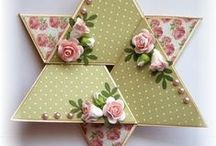3D and Shaped Cards