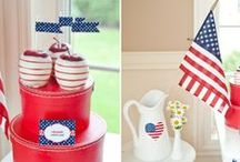 4th of July! * / All kinds of apple recipes inspired by Independence Day! / by California Apple  Commission