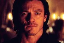 Luke <3 / I love Luke Evans. He is so pretty, sexy, cute and I love his voice!