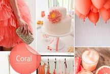 I Do ❥ Coral & Peach /
