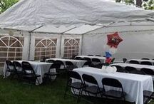 Party Equipment Rentals Kansas City / Amazing party rents, Tables, Chairs, Tents, Portable Bars and more! Serving Kansas City.