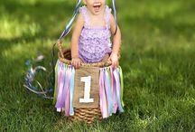 Milla first birthday / Birthday