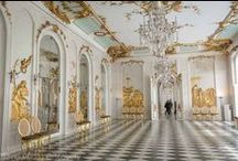 Potsdam palaces and gardens / Potsdam palaces, gardens and attractions includes the magnificent Sanssouci and Neues Palais along with other royal monuments and palaces in the Potsdam area on the outskirts of Berlin, Germany