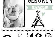 Geboortekaartjes / De leukste en mooiste ideeen als je van plan bent je geboortekaartje te gaan maken.