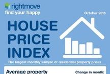 House Price Index / See the latest monthly national house prices round-up straight from us at Rightmove! / by Rightmove.co.uk