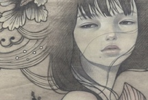 Audrey Kawasaki / by Crystal Steele