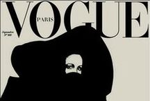 "Vogue Covers / Couvertures de Vogue de type ""illustration"""