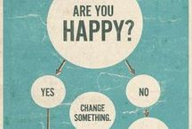 """Happiness / """"Research has shown that the best way to be happy is to make each day happy."""" - Deepak Chopra   / by Open Me"""
