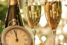 """New Year's / """"Cheers to a new year and another chance for us to get it right."""" - Oprah Winfrey / by Open Me"""