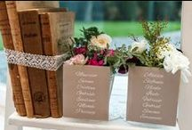Tableau de Mariage and Escort Cards / Tableau de mariage and escort cards for your special event