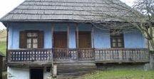 Harrow houses / Transylvanian traditional / Boronaházak a Gyimesekben--Csángó népi építészeti csodák