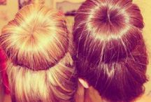 Bun hairstyles / Cute buns