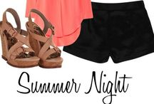 Summer outfits / Cool summer style