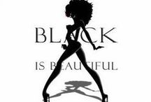 Black is Beautiful / Please pin all black attire. Thank you