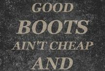 Good Boots Ain't Cheap**Dorothy Johnson / Please  pin BOOTS & BOOTIES  ONLY! NO FULL BODY PICTURES OF BOOTS OR BOOTIES.  DO NOT REPIN MORE THAN 6 PIN at a time from this board! Make NO MISTAKE!I WILL BLOCK U if you pin more than 10 per day. BOOTS, & BOOTIES