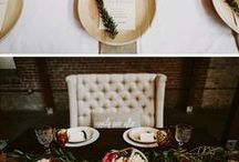 All Buttoned Up Inspirations / Great minds think alike! Here are some of the many wedding shoots that inspire All Buttoned Up Events.