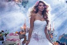 Alfred Angelo - Disney Wedding Dresses / The series of Disney Princess Wedding Dresses as created by Alfred Angelo!!