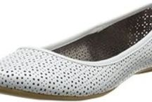 White Ballet Flats, Boots, Brogues & Sneakers