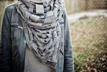Gray Scarve & Shawls