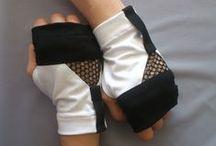 Black, Gray & White Gloves & Hand Warmers