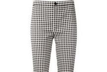 Black, Gray & White Jeans, Pants & Trousers