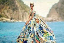 Dolce & Gabbana / I'm in love with this duo. They are my favourite artists in the Fashion World