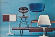 Interior . Vintage furniture