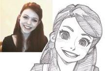 Rysunki w stylu Animowanym