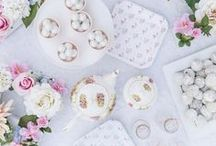 Tea Party / Inspiration for tea party themed birthday parties, baby showers, and bridal showers.