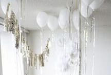 Sparkle + Glitter Party / Inspiration for sparkle and glitter themed celebrations.