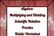 TPT 7 - 12 Math Freebies / Free Resources that to help middle and high school math teachers!