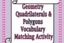 Polygons / Worksheets and lessons surrounding polygons and their properties