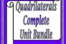 Quadrilaterals / Lessons, Resources and Activities for Quadrilaterals