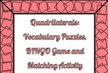 TPT 7 - 12 Math Games and Activities / Games and other activities to reinforce secondary mathematics concepts!