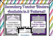 Calendars, Planning Maps and Binders / Documents meant to help you plan your upcoming school year, summer school or anything else that need planning! :)