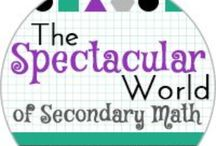 The Spectacular World Of Secondary Math Blog