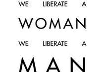 Feminism, yes.